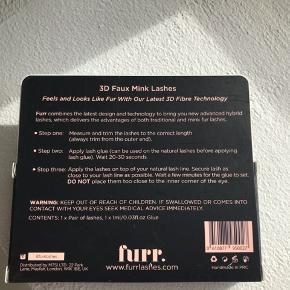 Helt nye og lækre vipper fra Furr.  De var købt til nytår, men kom aldrig i brug og sælges derfor billigt.   Sidste chance for køb er den 31 marts grundet flytning ☺️
