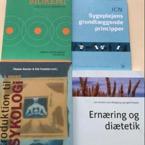 Bøger til sygeplejstudiet sælges   Køber betaler porto  Ved TS handel, betaler køber TS gebyr oveni prisen Spørg gerne for pris og stand