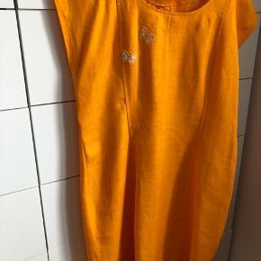 Flot gul/orange Miss V kjole☀️ XL  Købt i Magpie Lane Herning skøn retro vintage butik