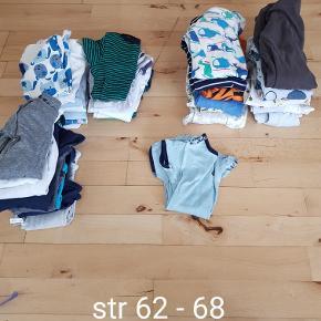 Tøjpakke.. Kort og langærmet bodyer, natdragter og en enkelt sommer dragt  Byd