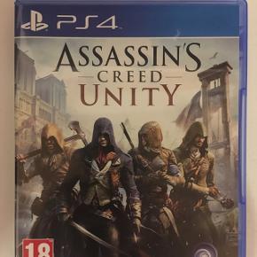 Assassins Creed Unity, brugt meget lidt, PlayStation 4