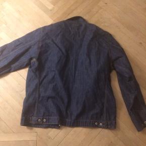 Vintage Denim jakke fra carhartt med lynlås