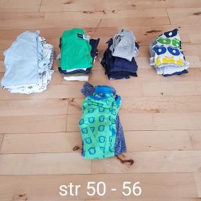 Tøjpakke..  bodyer, bukser, natdragter og heldragter   Byd