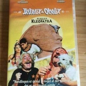 Mission kleopatra  Asterix og Obelix dvd  -fast pris -køb 4 annoncer og den billigste er gratis - kan afhentes på Mimersgade 111 - sender gerne hvis du betaler Porto - mødes ikke andre steder  - bytter ikke