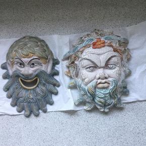 Fine håndlavede græske masker. Bud  modtages