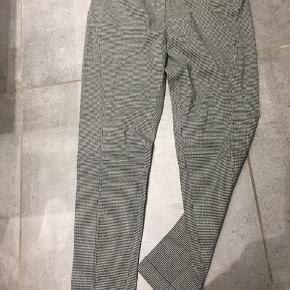 Kenzo jungle vintage bukser str 42, med uld & stretch, pepita ternede - aldrig brugt😀