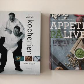 Appetit på livet - Brdr. Kochs bedste diabetes opskrifter. Og Jesper og Michael Koch - Kocherier. 35 kr pr. Stk.