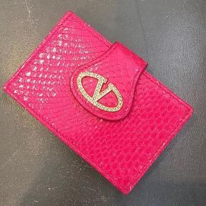 Valentino kortholder /sedler pung i pink ny!!