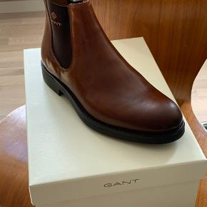 Gant Oscar støvle. Cognac. Str 42. Ikke brugt.