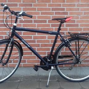 """X-Zite 28"""" citybike. Sælger denne køreklar citybike med 21 velfungerende gear, begge håndbremser virker optimalt. Der er indbygget lås med en nøgle og stelstørrelsen er 57. Den kan ses og hentes i Kolding"""