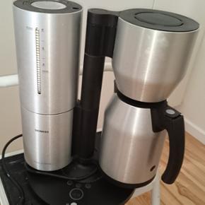 Kaffe maskine Porche,  den med termokande.  Giv bud ;-)