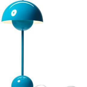 Fin turkis Verner Panton Flowerpot lampe.  Sælges billigt.