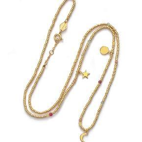 Anni Lu halskæde i guld 💛 Æske medfølger