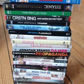 Alle film kan købes samlet, eller hver for sig