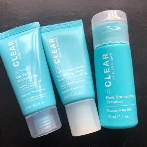 Paula's choice CLEAR travel size trial kit. Uden exfoliating solution!!  Kun brugt 2-3 gange.