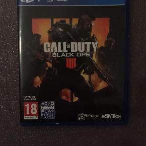 Call Of Duty Black Ops 4 Brugt lidt Pris: 200kr