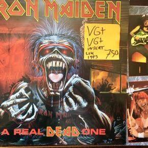 Iron maiden lp vinyl plade super stand
