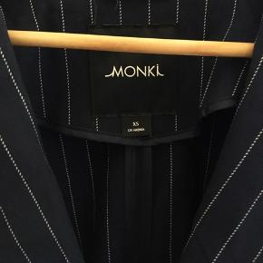 Stribet monki blazer