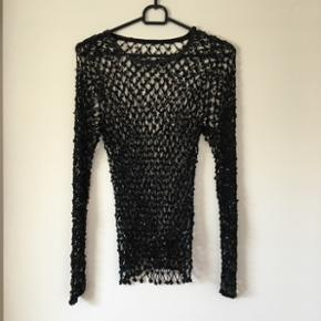 Super fin bluse med palietter 🌸str. S/M 🌸rigtig pæn stand🌸Mp 25