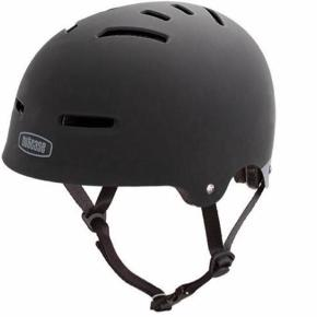 Nutcase cykelhjelm str. L (58-62 cm).  Der medfølger indlæg, så den kan tilpasses hovedstørrelsen.  Helt ny, aldrig brugt. Fejlkøb.  Byd gerne.