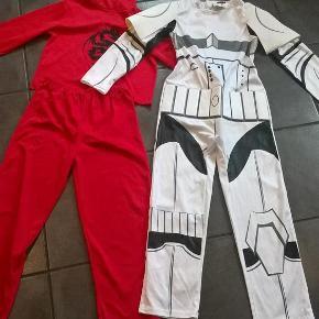 Brand: - Varetype: Udklædning (Star Wars og Ninja) Størrelse: 140 Farve: flere  2 x udklædning i str 140  Sælges samlet for 125 pp :-)