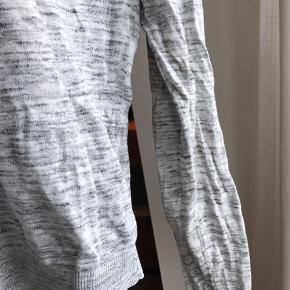 Fed weekday trøje i meleret grå Str xs