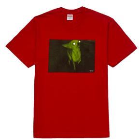 Supreme Chris Cunningham Chihuahua  Tee Red  str. M Købt på Suprême, kvittering og bag medfølger   Sender m DAO