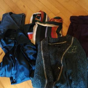 Bladet tøj til kvinder i forskellige størrelser og mærker. Malou Sander, Zara, vadumsrum og st-Martins