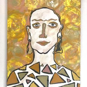 Jeg er netop blevet færdig med at male maleriet og ønsker derfor at sælge det til en, som mangler kunst på væggene :)
