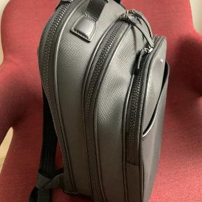 MONTBLANC leather backpack. Almost as new. Selling since it is not used much