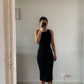 Lang Sort kjole tætsiddende   #30dayssellout #trendsalesfund   Fest galla