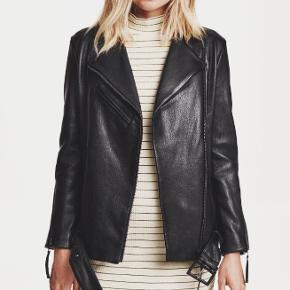 H&M Premium pels- & skindjakke