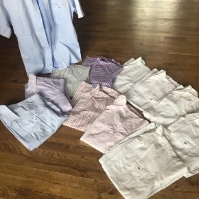 skjorter med korte ærmer str 40 , regular fit, pr stk 300kr 2 for 500kr