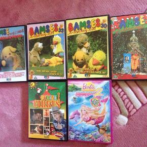 Brand: Forskellige Varetype: DVD Størrelse: - Farve: Multi  Bamse og kyllings allersjoveste  Bamses billedbog 30  Bamses billedbog 33  Bamses julesange  Dyrene i circus  Barbie 2