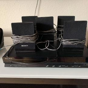 Sony home theater system 5.1.  5 speaker plus subwoofer.   *No controller