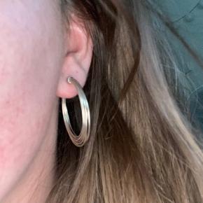 Jane kønig Wire Earring i sølv