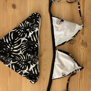 Mega fin bikini, købt i Blåvand for 2 år siden og har været brugt flittigt siden, men ingen større brugs tegn🌸   Husk jeg sælger ud, så kører et tilbud der hedder 3 stykker tøj for 2's pris. Heraf medfølger det billigste stykke🌸