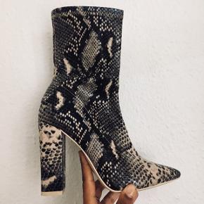 Lækre støvler fra Nelly Trend. Brugt en gang.