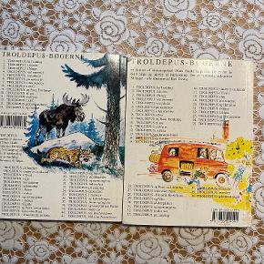 Hej! Jeg sælger disse 2 troldepus bøger. - Troldepus i Norge - Troldepus i den store by De er i fin stand. Jeg sælger dem til 10 kr. stk. Hvis du har nogle spørgsmål til dem, så spørg løs.  Tjek gerne mine andre annoncer ud for en masse billige ting