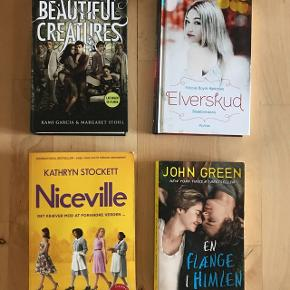 Diverse bøger sælges i god stand. Spørg for pris.