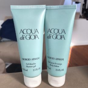 Uåbnet Shower gel og body lotion fra Giorgio Armani