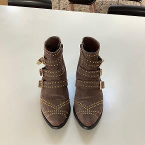 Smuk Sofie schnoor støvlet - brugt meget få gange, virkelig flotte og velholdte