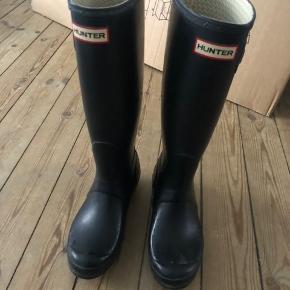 Hunter gummistøvler, rigtig fin stand