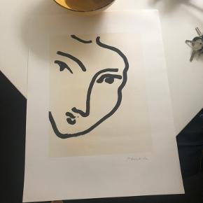 """Plakat """"nadia"""". Købt hos Posterland"""