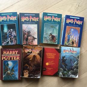 Harry Potter Alle bøgerne kr. 450 Harry Potter Alle DVDer kr. 450