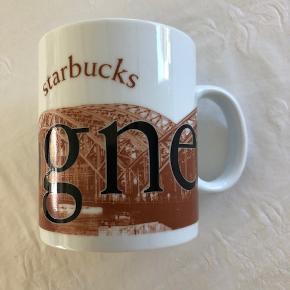 Porcelæn, Starbucks Samlerkrus - Köln Cologne Kruset måler 11 cm i højden og har en diameter på 9 cm. Fin stand og uden skader. Kan sendes for 40 kroner.