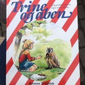 Sender pakker i morgen -  Børnenes trafikklub bog - Trine og aben Standen er helt som ny  Ferielæsning