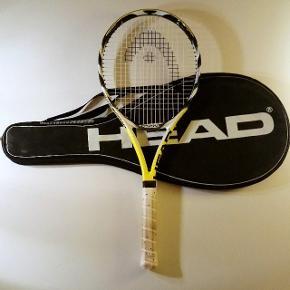 Ketcher tennis Head mid plus ekstreme junior pro Den er næsten ikke brugt Medfølger cover / betræk