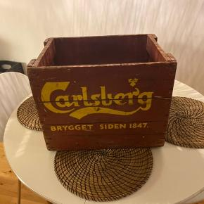 Retro øl kasse, fra Carlsberg