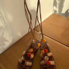 Læder sandaler